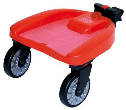 подставка для второго ребенка на коляску.