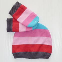 93541 Комплект д/малышей: шапочка + рукавички б/пальчика, KappAhl.