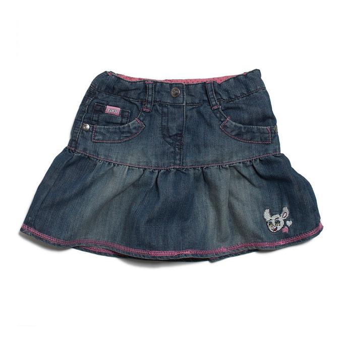 Детские юбки из джинса
