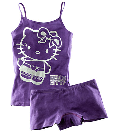 95488 Комплект белья: майка+трусы(шортиками) Hello Kitty, H&M.