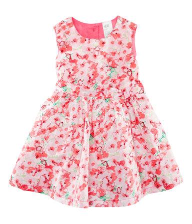 Летние детские платья для девочек