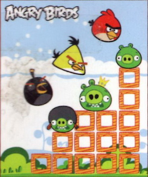 1014/1-53 Плед флисовый, Angry Birds