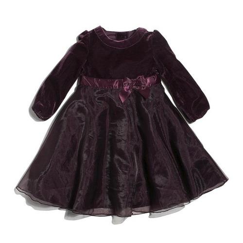 Платье из бархата девочке сшить 86